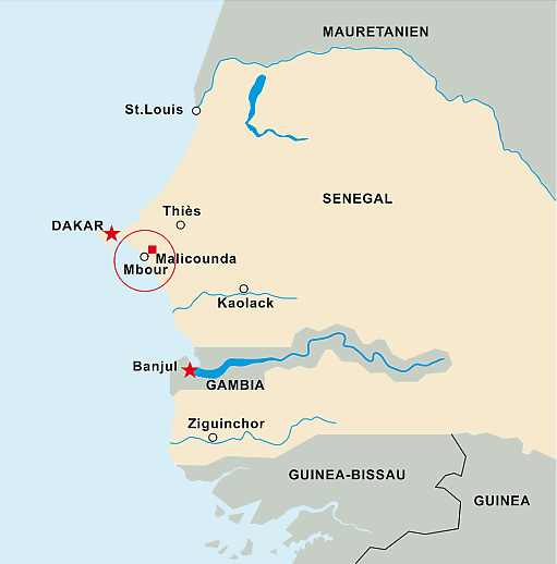 Le village de Malicounda - Sénégal - Association Senécole